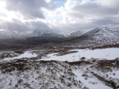 towards Buachaille Etive Mor